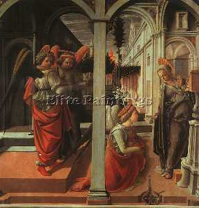 The Annunciation - tempera on wood -