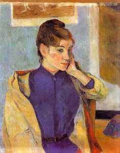 Portrait of Madeline Bernard (the sister of the artist)