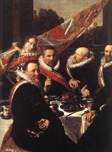 Banquet of the Officers of the St George Civic Guard (detail) -