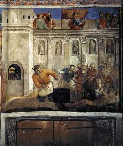 E,wall - Martyrdom of St Lawrence