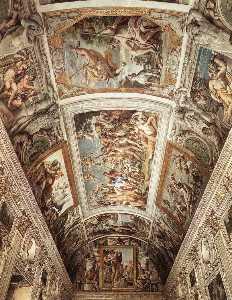 frescoes-Ceiling fresco
