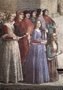 frescoes - Resurrection of the Boy (detail)3