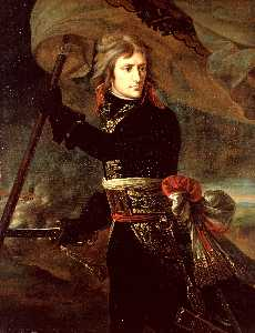 Napoleon Bonaparte on the Bridge at Arcole
