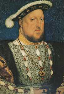 Henry VIII and his Family - Portrait of Henry VIII