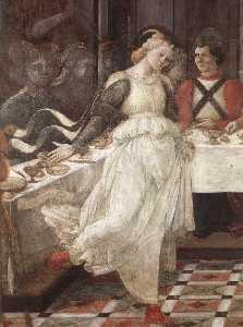 Prato-Herod's Banquet (detail)