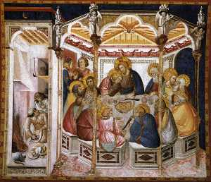Assisi-vault-The Last Supper