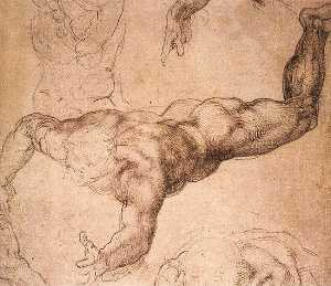 Sistine Chapel-Male Figure
