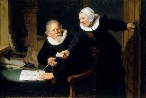 The Shipbuilder Jan Rijcksen and His Wife