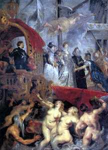 Marie Arrives at Marseilles