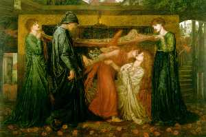s Dream at the Time of the Death of Beatrice