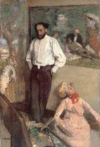 Portrait of the Painter Henri Michel Levy