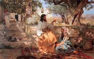 キリスト インチ  ザー  家  の  マーサ  と  メアリー