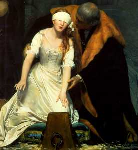 The Execution of Lady Jane Grey centre
