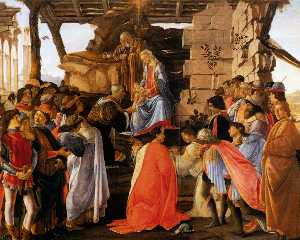 Sadro adoration of the magi