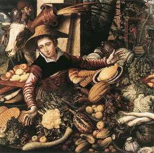 Vendor of vegetable