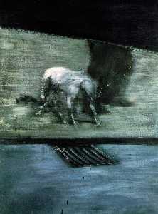 Man with dog ALBRIGHT-KNOX ART GALLERY, BUFFALO