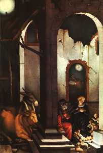 Grien Nativity, pine panel, Pinakothek at Muni
