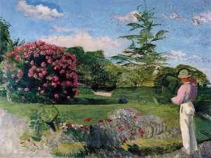 Le petit jardinier, ca Museum of Fine Arts,