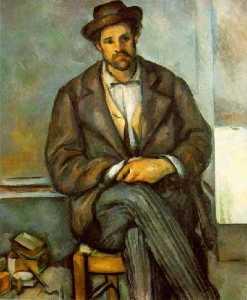 Seated peasant,1895-90, philadelphia museum of art