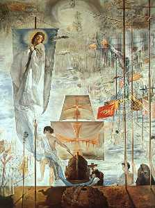 Dalí the discovery of america by christopher columbus (the d