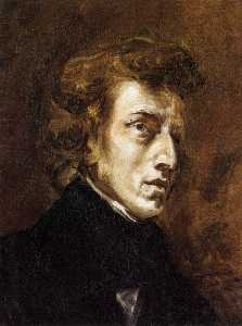 Portrait of Frédéric Chopin (unfinished)