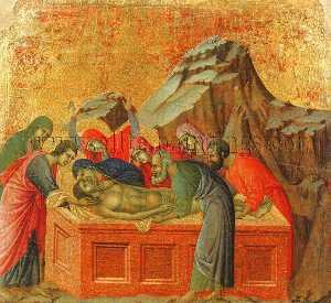 Burial of Christ, Museo dell'Opera del Duomo, Siena.