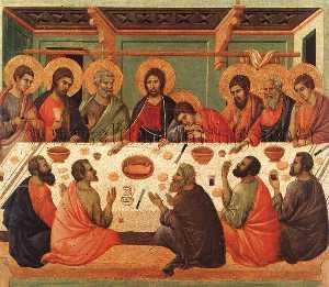 The Last Supper, Museo dell'Opera del Duomo, Siena.