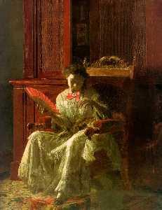 Kathrin , huile sur toile , Yale Université gal art