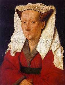 Portrait of Margaret van Eyck (Mrs. Jan van Eyck)