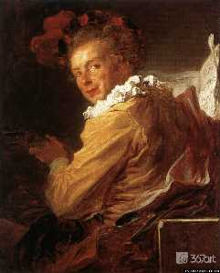 Man Playing an Instrument (The Music)