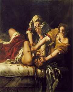 A. judith beheading holofernes, - (199x162.5)