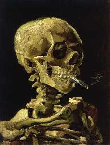 Skull cigarette