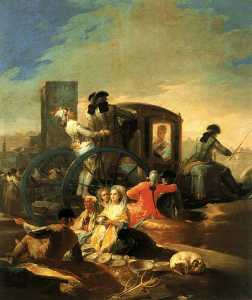 イル Mercante ディ stoviglie . . 博物館 デルプラド マドリッド