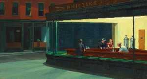Nachtschwärmer , die kunst Institut von chicago , Chica