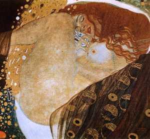 Danae, oil on canvas, private colle