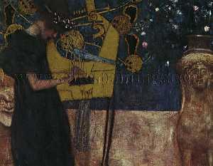 Music I, oil on canvas, Neue Pinakothek, Munich