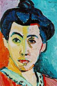 Green stripe (Madame Matisse), Royal Museum of
