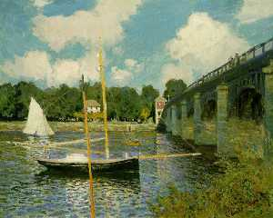 'The Highway Bridge at Argenteuil'
