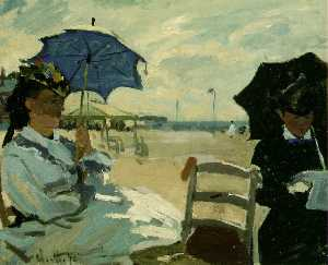 The Beach at Trouville, NG London