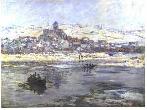 Vétheuil in Winter, or Frick co