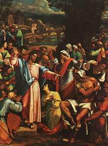 The resurrection of lazarus, london
