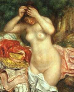 Bather Arranging her Hair, National Gallery of