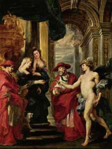 An Offer of Negotiation, Louvre