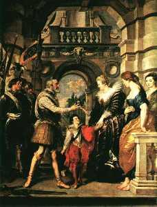 Marie becomes regent, louvre