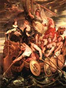 The Majority of Louis XIII, Louvre