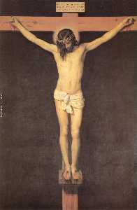 Christ on the Cross, oil on canvas, Museo de