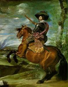 The Count-Duke of Olivares on Horseback Prad