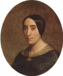 ein porträt von amelina dufaud Bouguereau