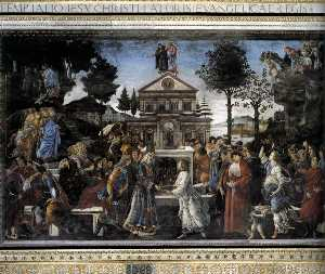 SistineChapel - Three Temptations of Christ