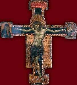 Cross with the Crucified Christ - GJ - (4167)